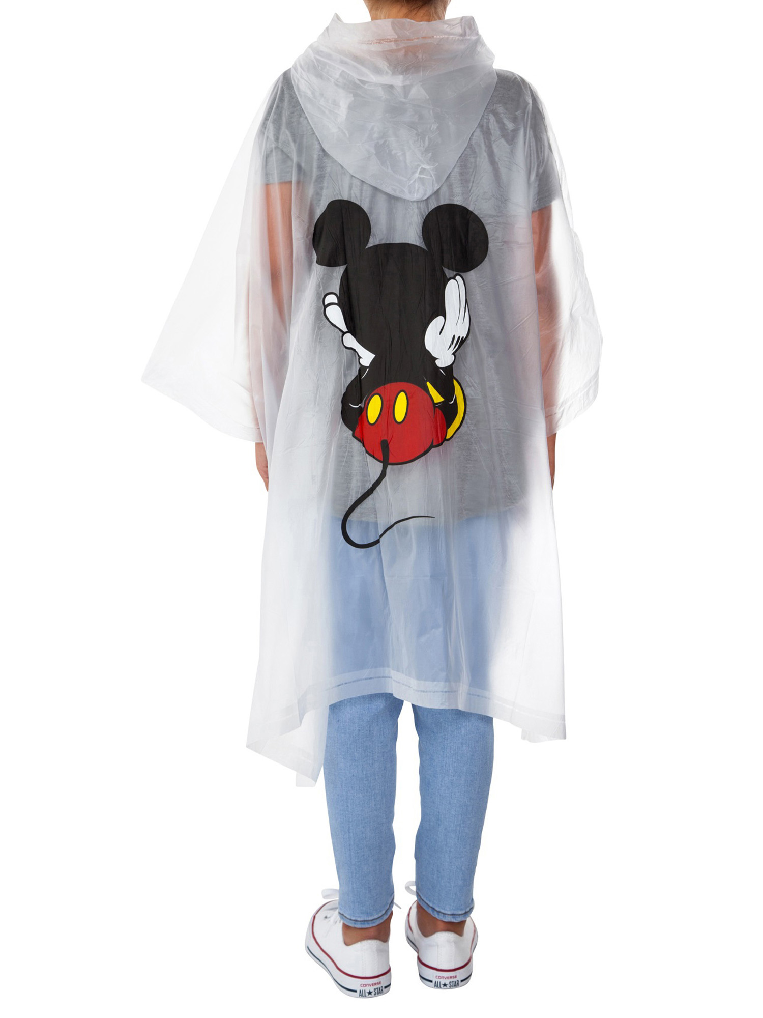 Adult-Kids-Unisex-Mickey-Mouse-Rain-Ponchos-4-PACK-Front-Back-CHOOSE thumbnail 9
