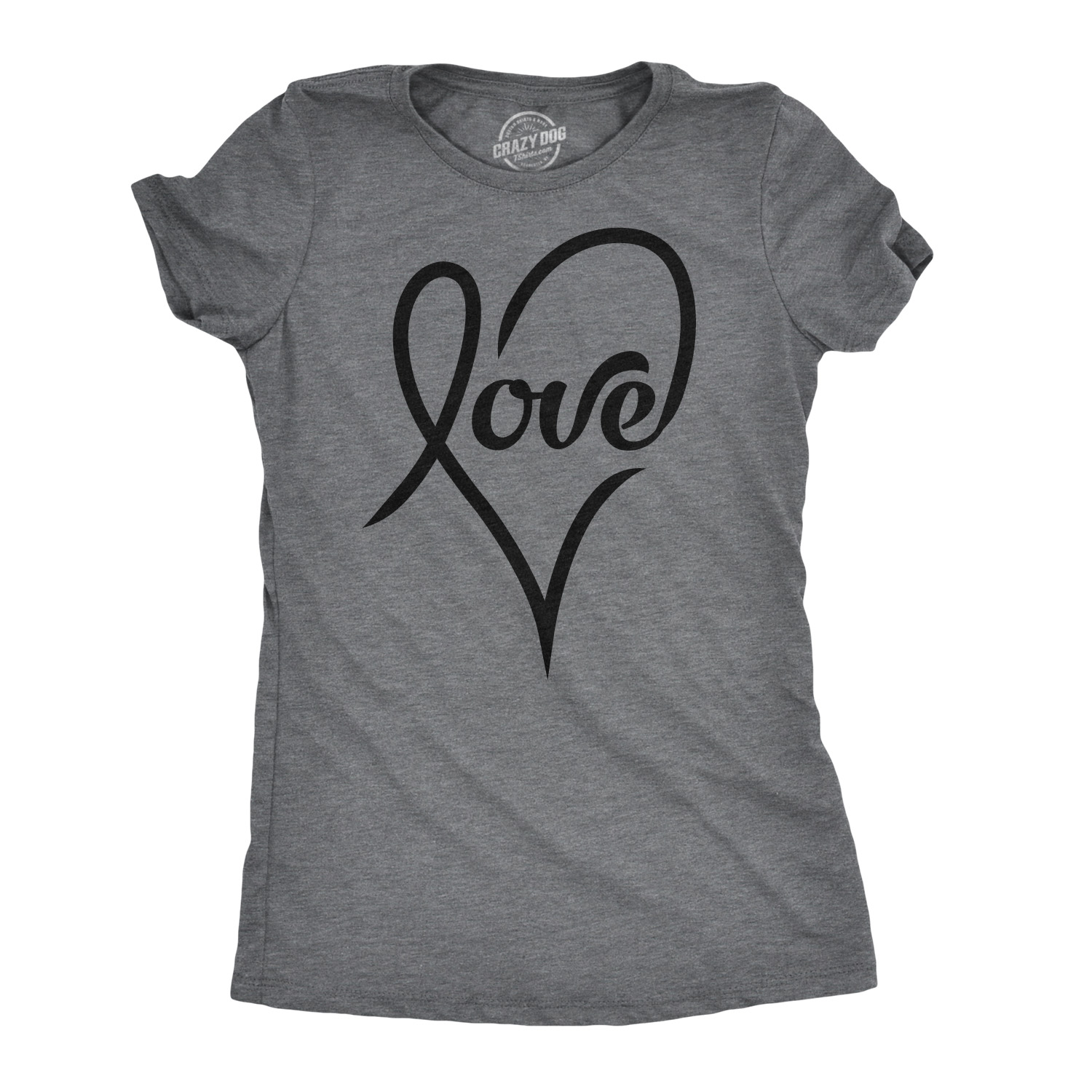I Love Hearts Malta Ladies Fitted T-Shirt