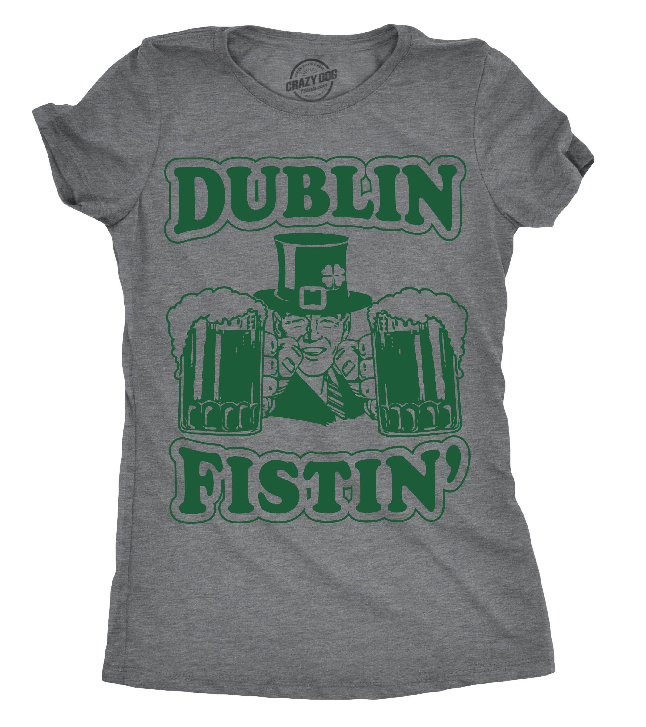 acab172bdbb Patricks Pregnancy Announcement T Shirt Crazy Dog Tshirts Tops   Tees Maternity  Irish I Could Drink Funny St