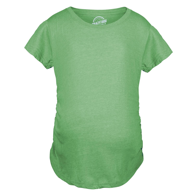 dcf94894b48b3 Women's Maternity Shirt Comfortable Pregnancy Tee Plain Blank I'm ...