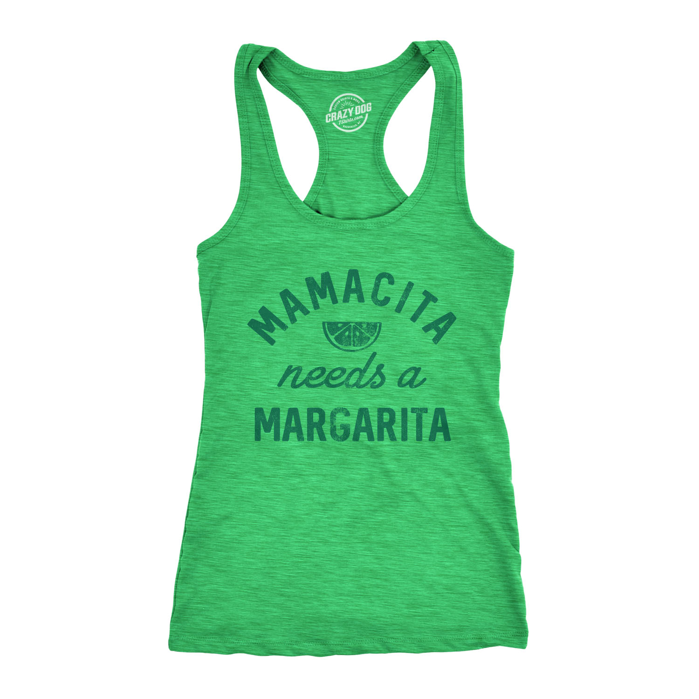 Download Womens Tank Mamacita Needs A Margarita Tanktop Funny Cinco ...