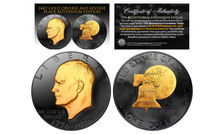 Eisenhower Bicentennial  Dollar Coins