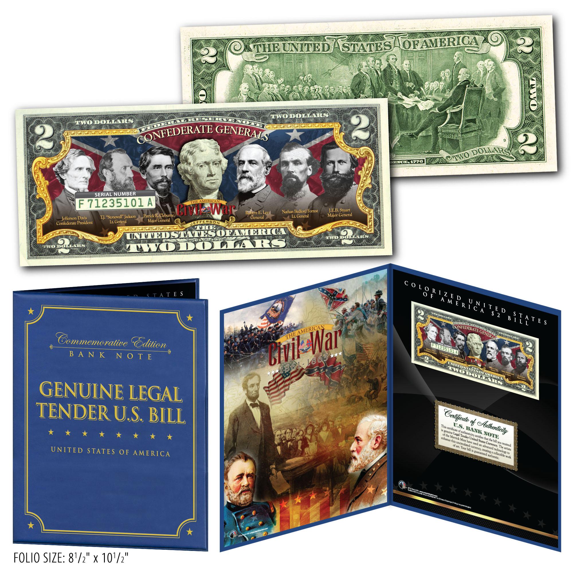 2006 Collectorama Souvenir Card Oct 1862 $10.00 Confederate T48 Essay L30