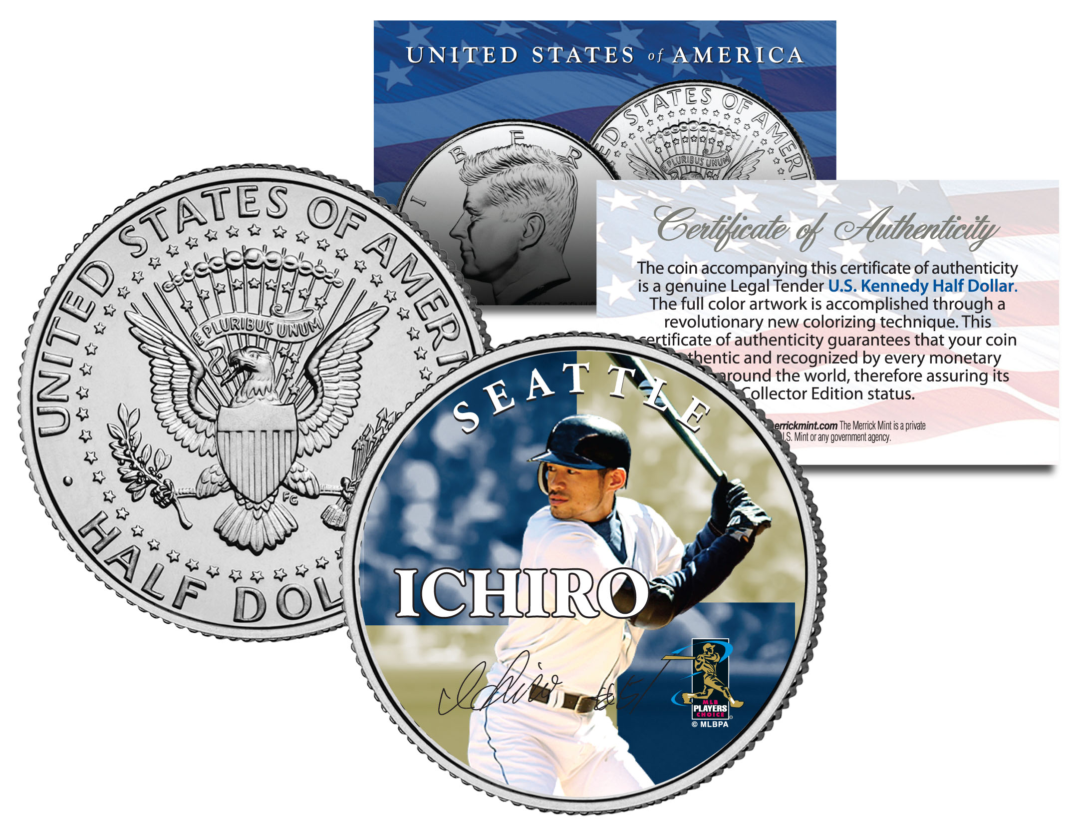 Colorized Coin Yankees JOE DIMAGGIO 2006 American Silver Eagle Dollar 1 oz U.S