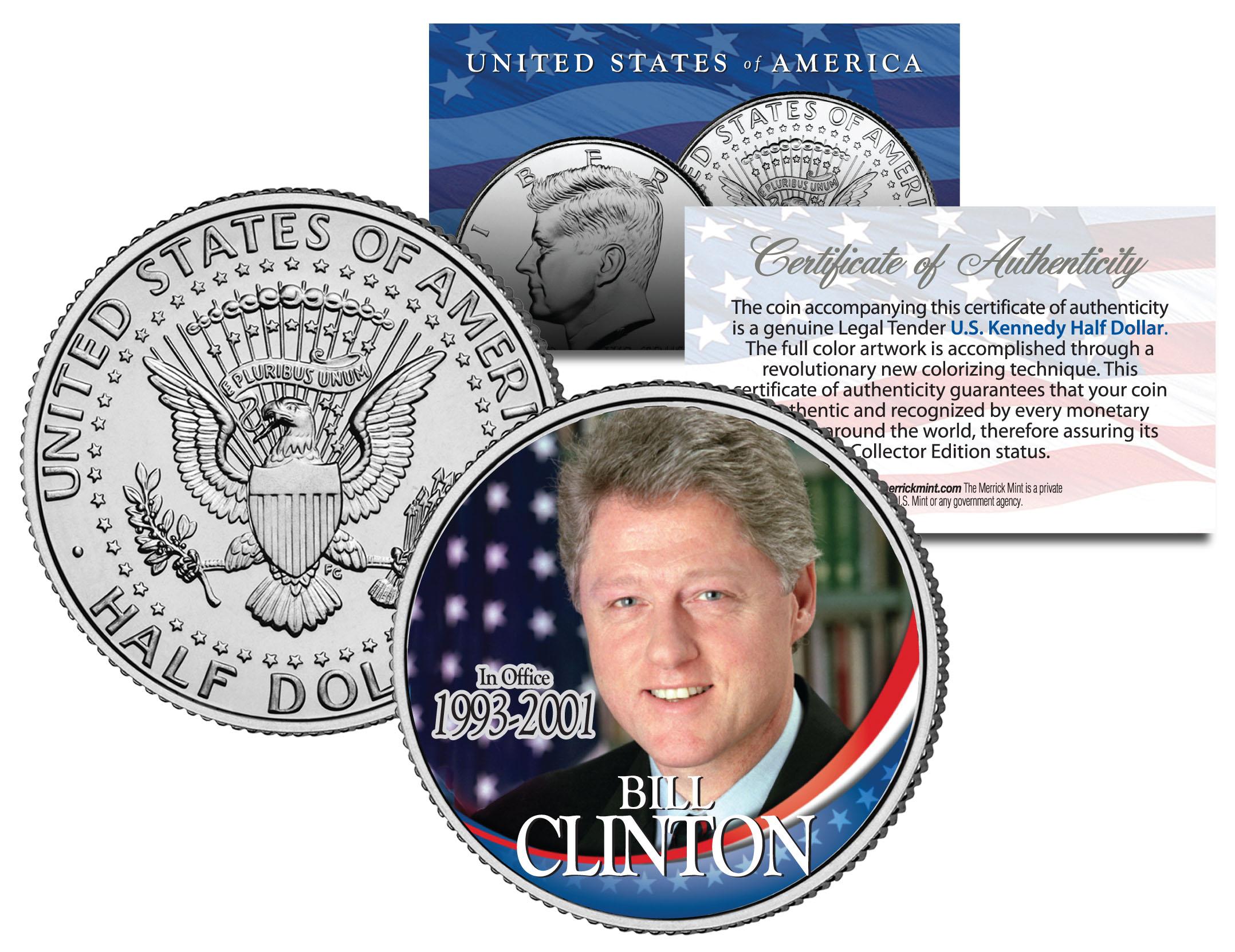 Coin President JAMES Jimmy CARTER JFK Half Dollar U.S In Office 1977-1981