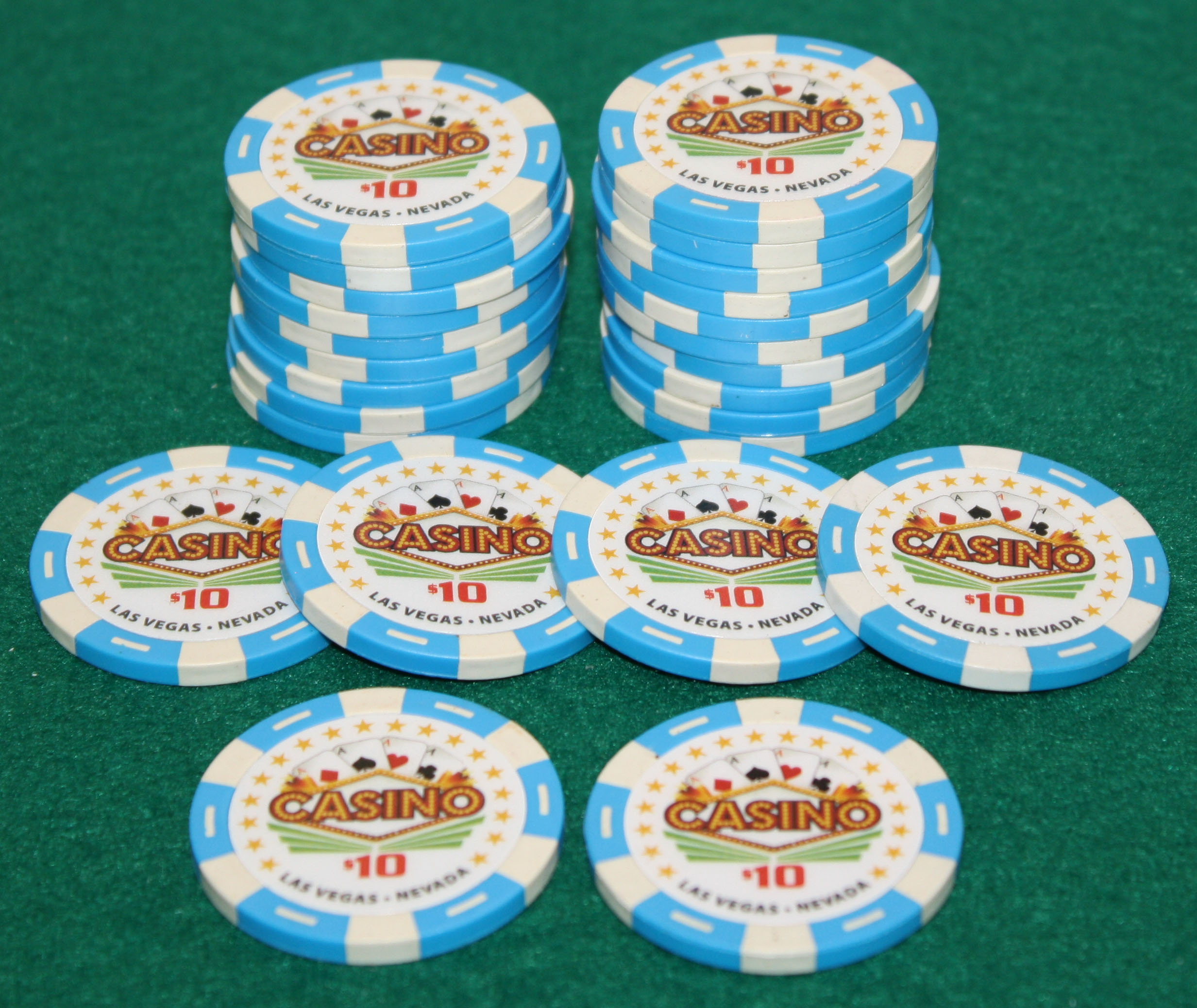 Casino Quality Poker Chips