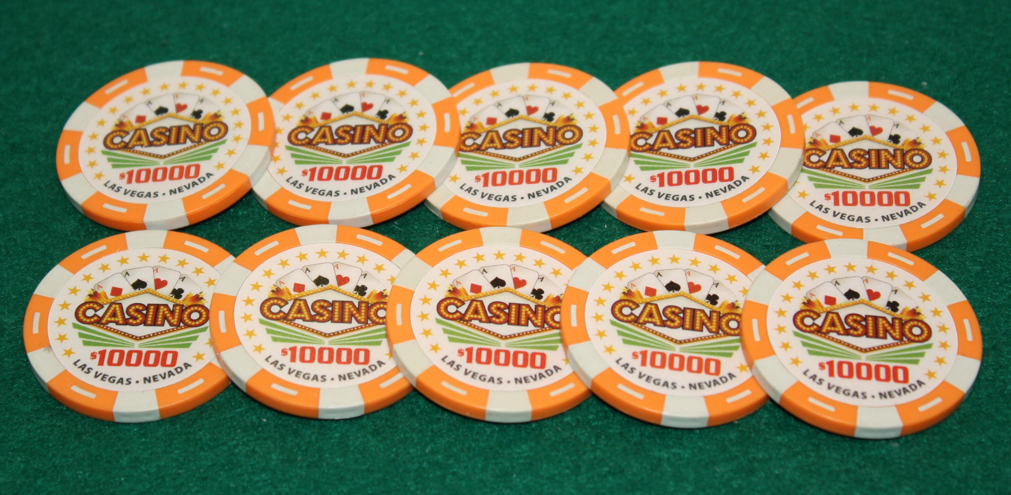 $5,000 Pro Vegas Casino Chips Super High Quality Poker Chip 11.5 Grams QTY: 20