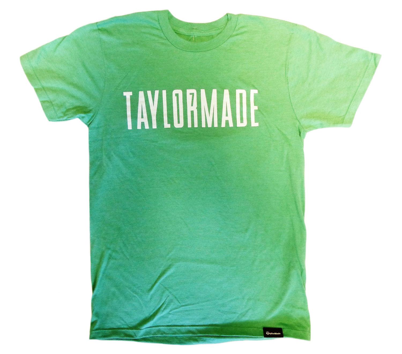 2019 DernièRe Conception New Taylormade Majors Collection Masters Vert/t-shirt Blanc Homme Taille S-afficher Le Titre D'origine éLéGant Dans Le Style