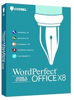 Corel WordPerfect Office X8 Home & Student