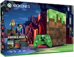 Microsoft Xbox One S 1TB Limited Edition Console - Minecraft Bundle