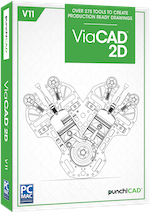 Punch! ViaCAD 2D v11 (Download)