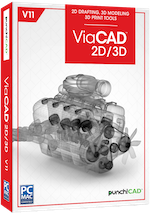 Punch! ViaCAD 2D/3D v11 (Download)