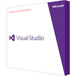 Microsoft Visual Studio Professional 2013 with MSDN