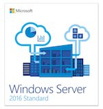 Microsoft Windows Server 2016 Standard 64 Bit 10 Client