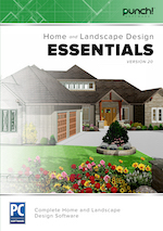 Punch! Home & Landscape Design Essentials v20 (Download)