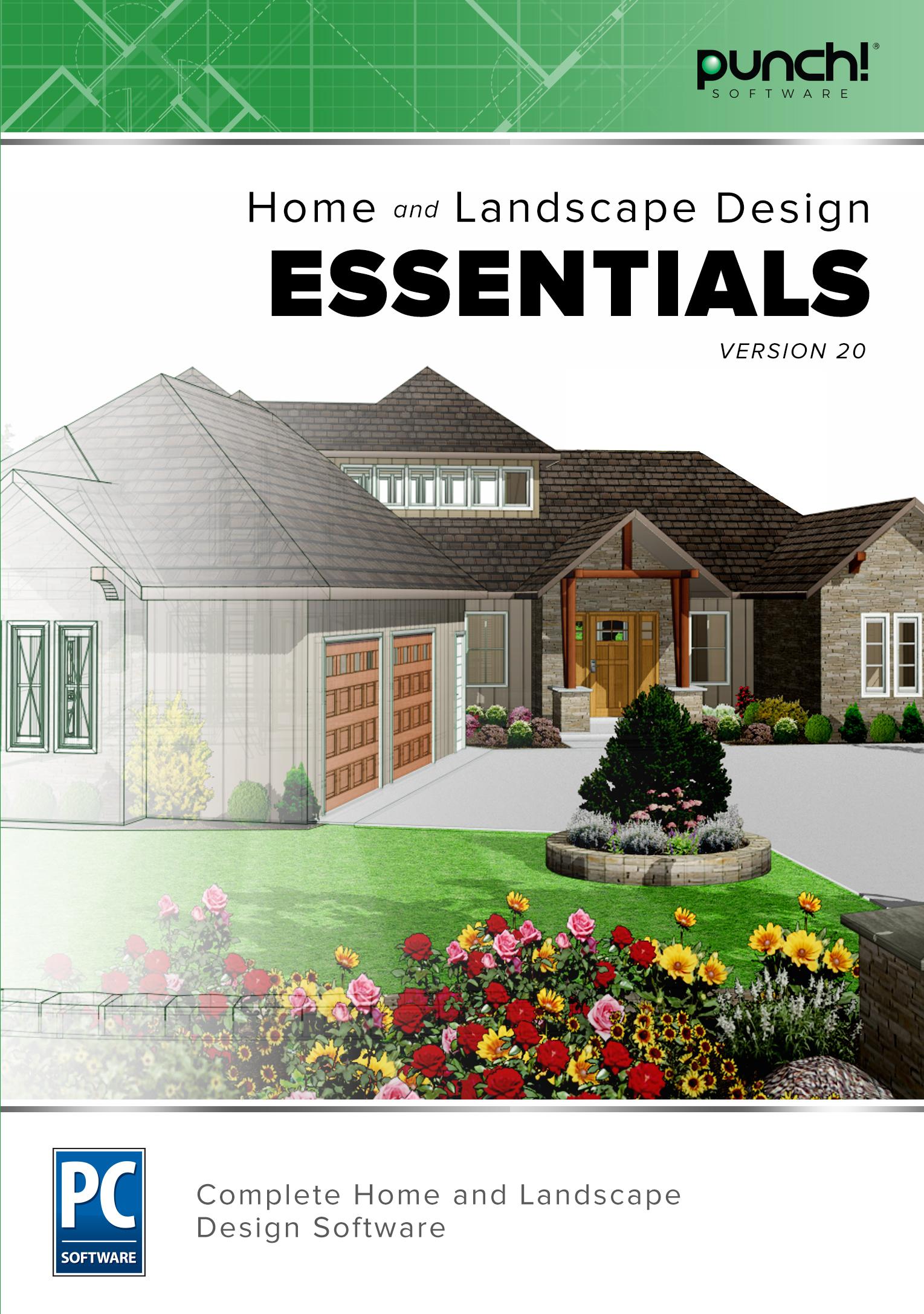 Punch! Home & Landscape Design Essentials v20 (Download)