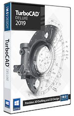TurboCAD Deluxe 2019 (Download)