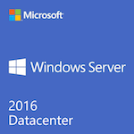 Microsoft Windows Server 2016 Datacenter 64 Bit OEM 16 Core