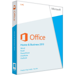 Microsoft Office Home and Business 2013 (Opened Box)
