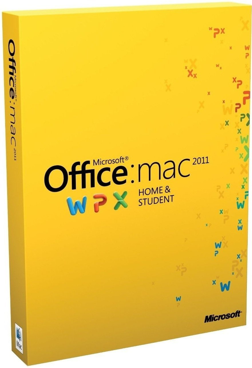 Microsoft Office for Mac Home and Student 2011 - Family Pack