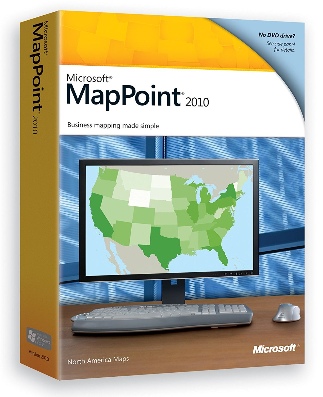 Microsoft mappoint 2017 standard edition