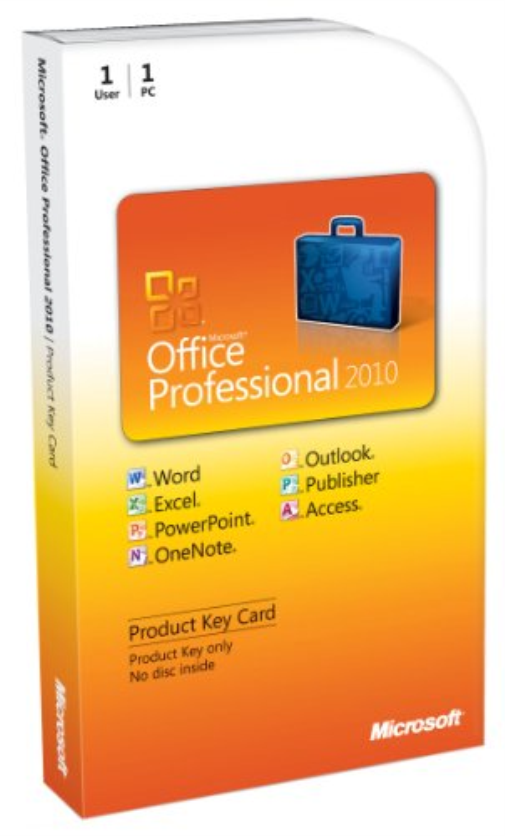 Microsoft Office Professional 2010 PKC
