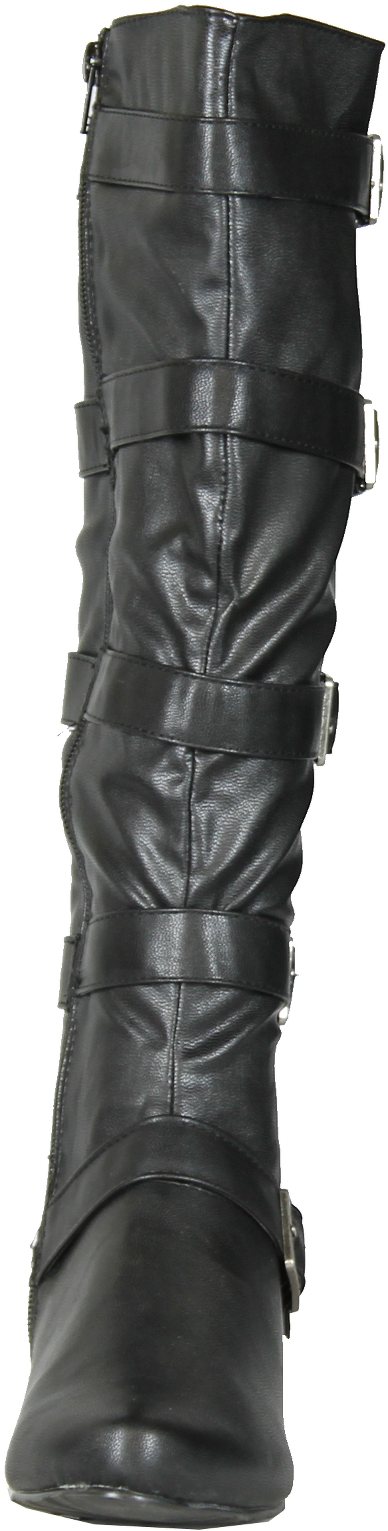 Gomax Boots Womens Agatha Cute Fashion Boots Gomax With Buckle Detail adb244