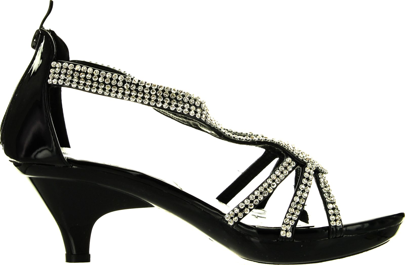 Wedding Heels With Rhinestones: Delicacy Women Dress Sandals Rhinestone Platform Wedding