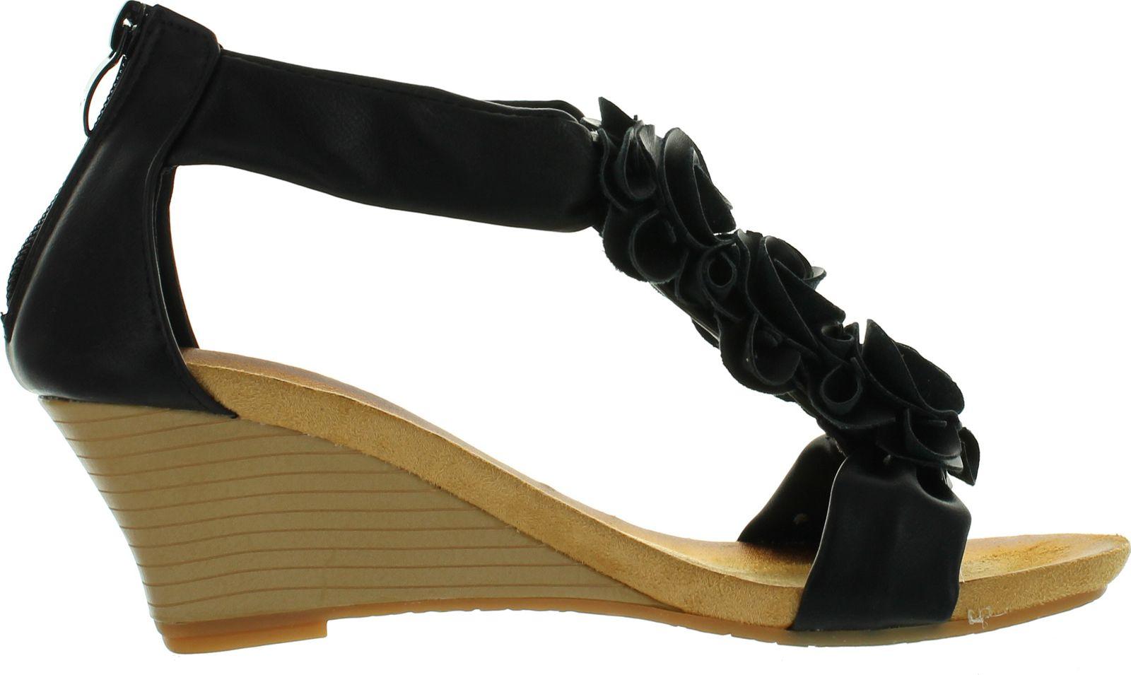 thumbnail 6 - PATRIZIA by Spring Step Womens Harlequin Fashion Wedge Sandals