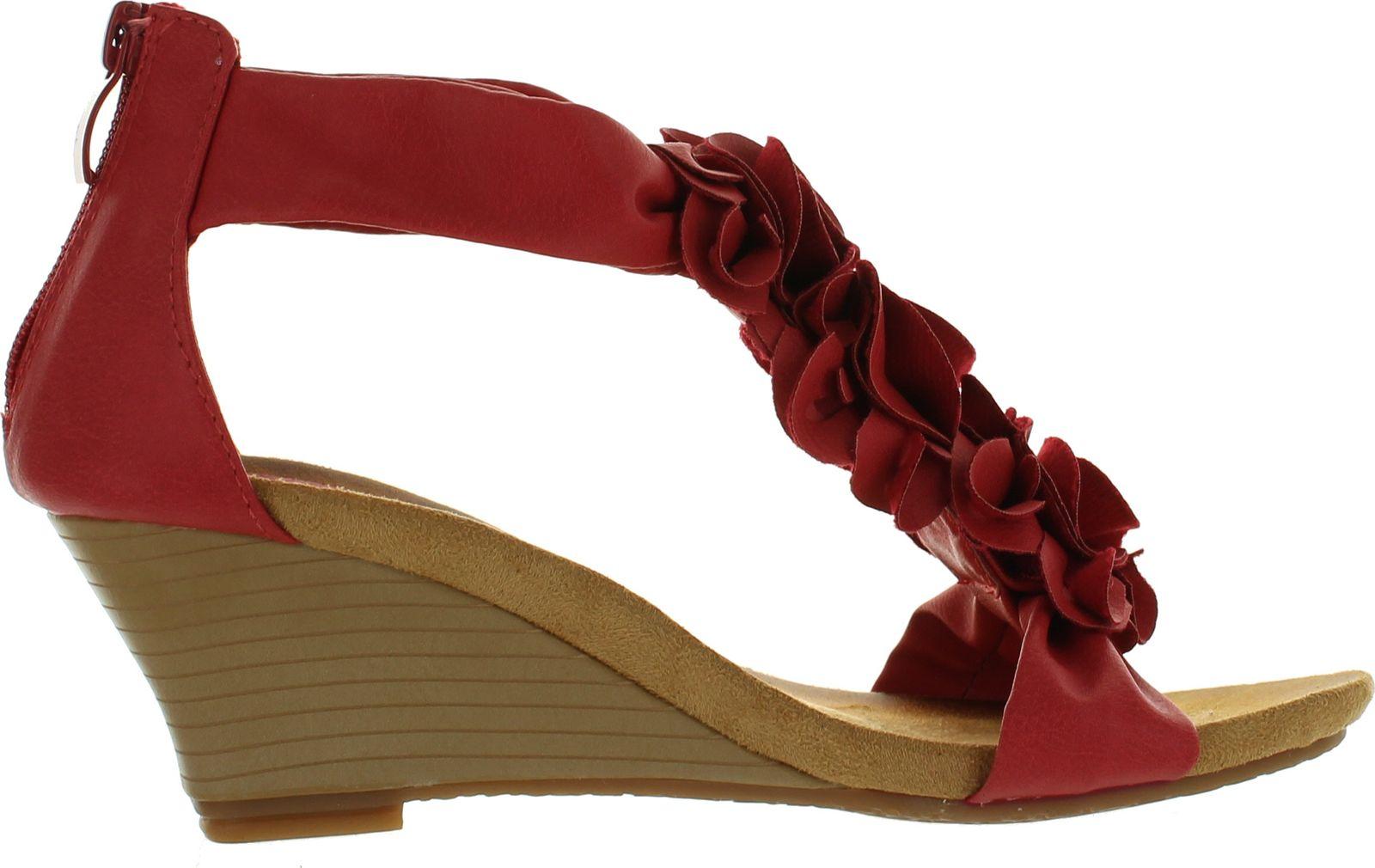 thumbnail 14 - PATRIZIA by Spring Step Womens Harlequin Fashion Wedge Sandals