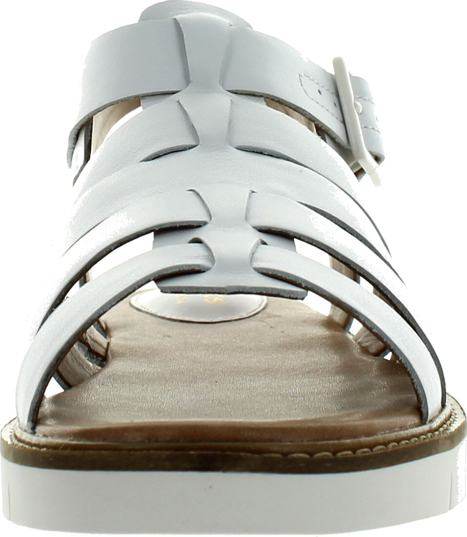 1868635d2442 Clarks Lydie Kona White Leather Women Sandals Multisize 10 for sale ...