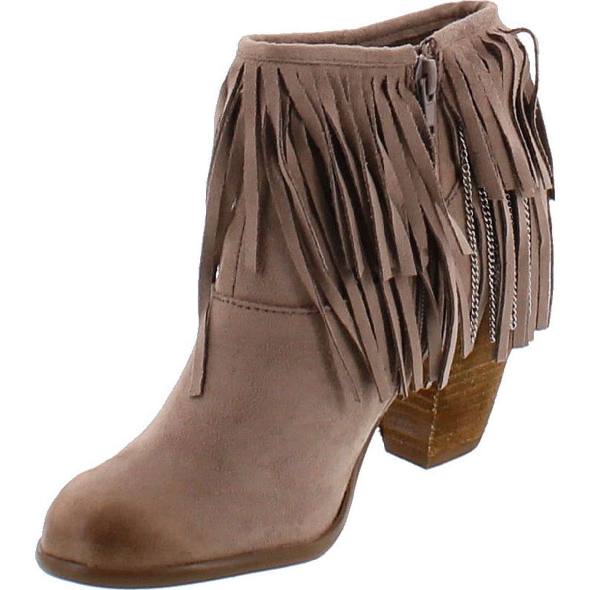 Not Rated Rated Rated Women's Auriga Ankle Fringe Bootie 2c4e9e