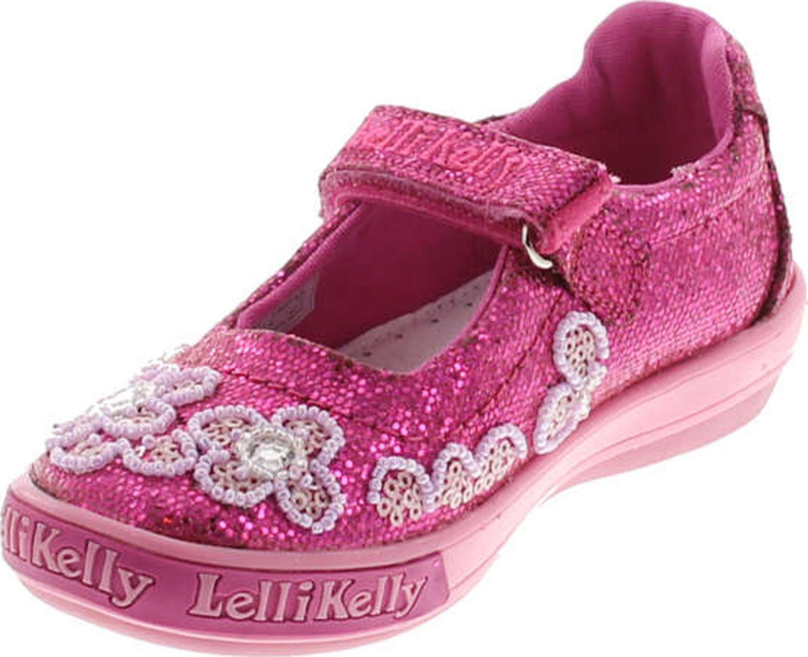 Lelli Kelly Kids Girls LK1116 Swirls Fashion Mary Jane Flats Shoes