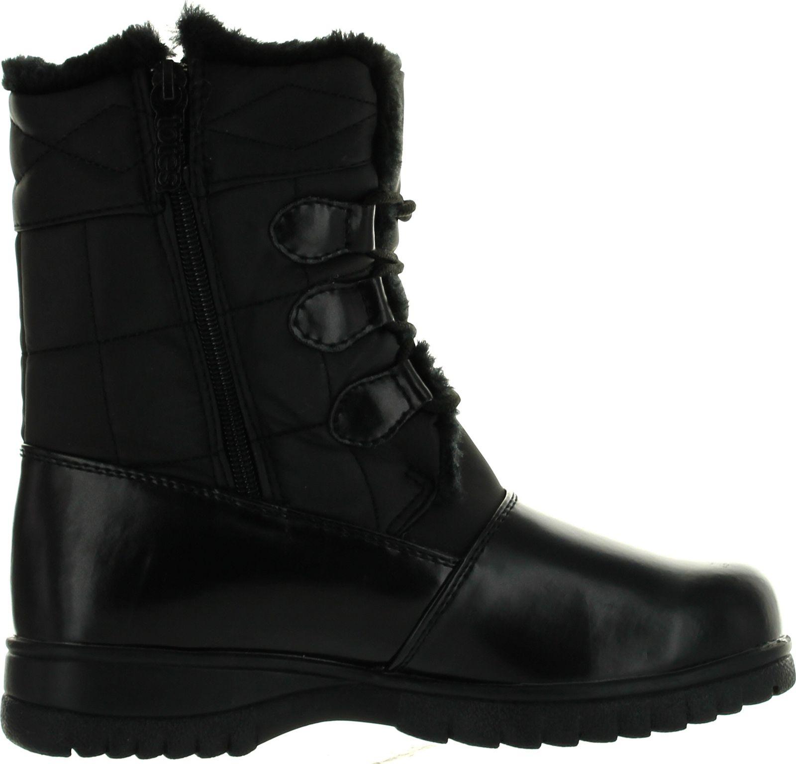 Totes Womens Karla Winter Waterproof Snow Boots | eBay