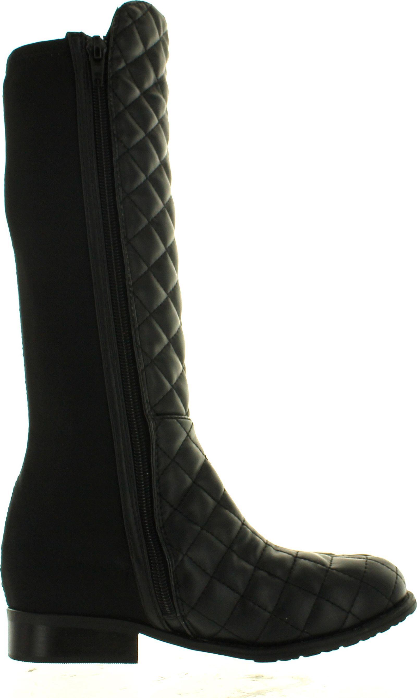 Stuart Weitzman Girls Youth 5050 Quilt Designer Tall Fashion Boots ... : stuart weitzman quilted boots - Adamdwight.com