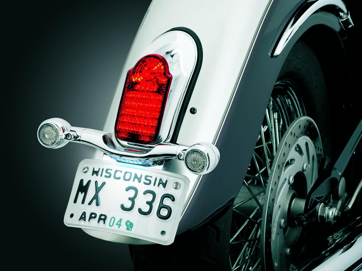 Kuryakyn Slimline Low Profile Tombstone Taillight W Turn Signal 48 Volt Star Golf Cart Wiring Diagram Mount 4992