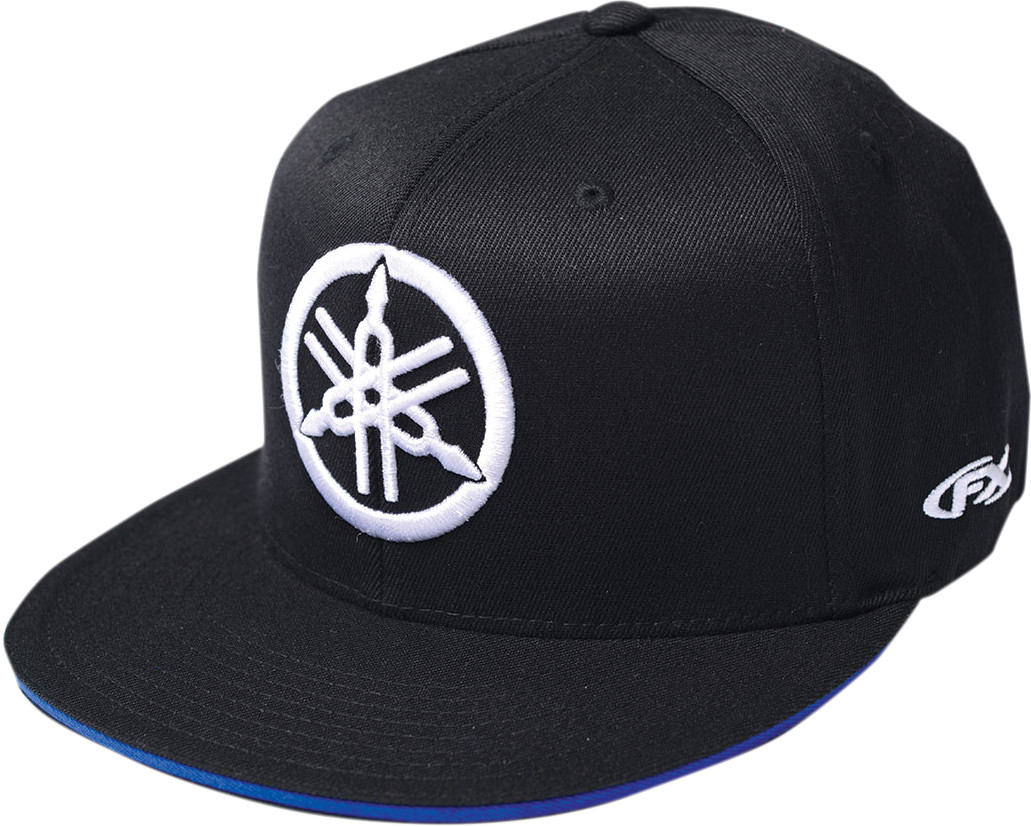 Factory Effex Licensed Yamaha Legend Snapback Hat Black//Grey Mens OSFA