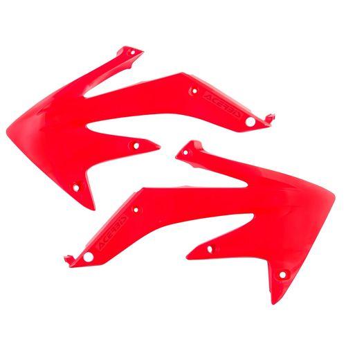 Honda CRF250R,CRF250X Fits ACERBIS RADIATOR SHROUDS RED