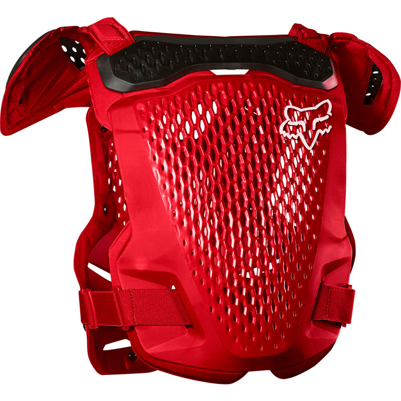 Fox 2020 R3 Roost Guard//Chest Protector Flame Red All Sizes