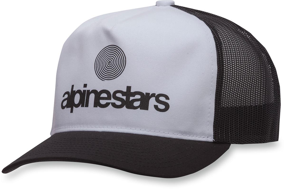 Alpinestars Adult Snapback Origin Trucker Hat Black OSFA  3d686120db7