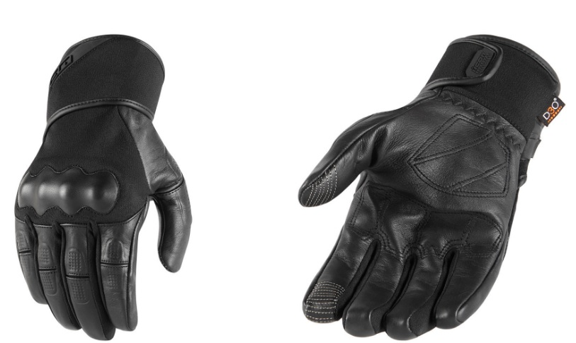 2018 Icon Mens Tarmac Waterproof Motorcycle Gloves All Sizes