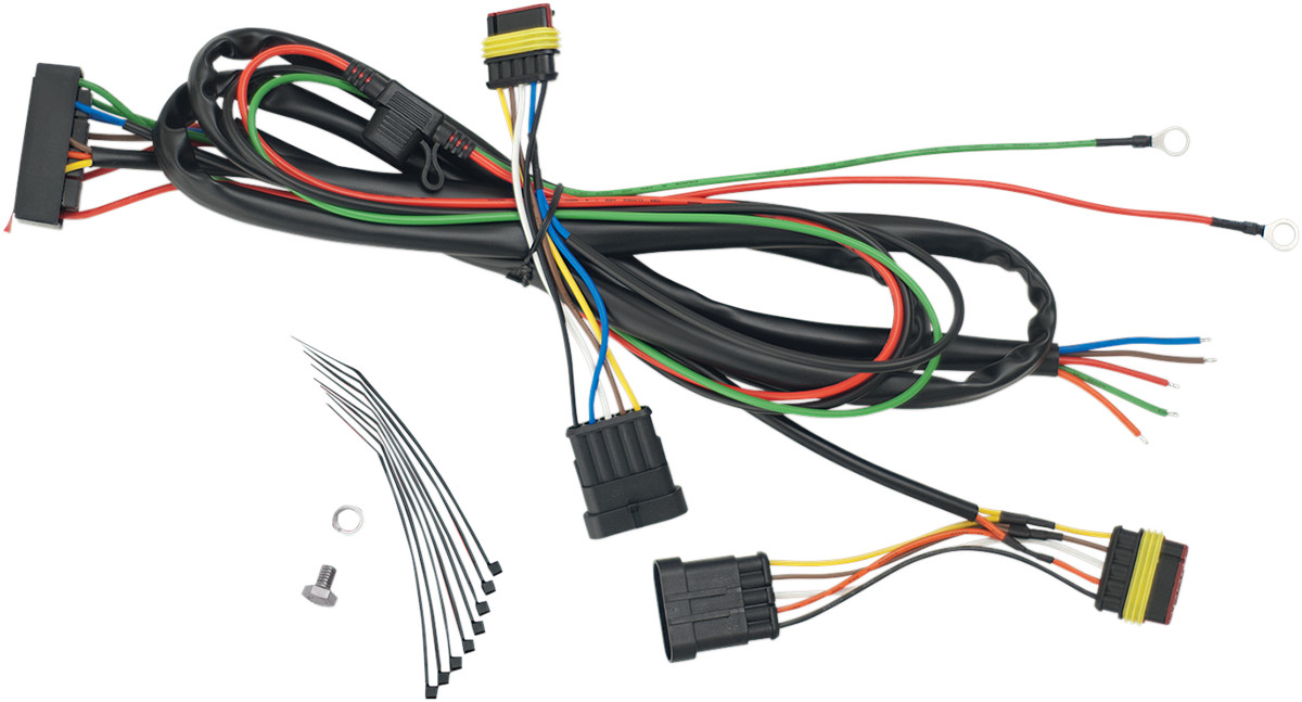 can wiring harness can wiring diagram show chrome trailer wiring harness 5 pin for can-am spyder ...