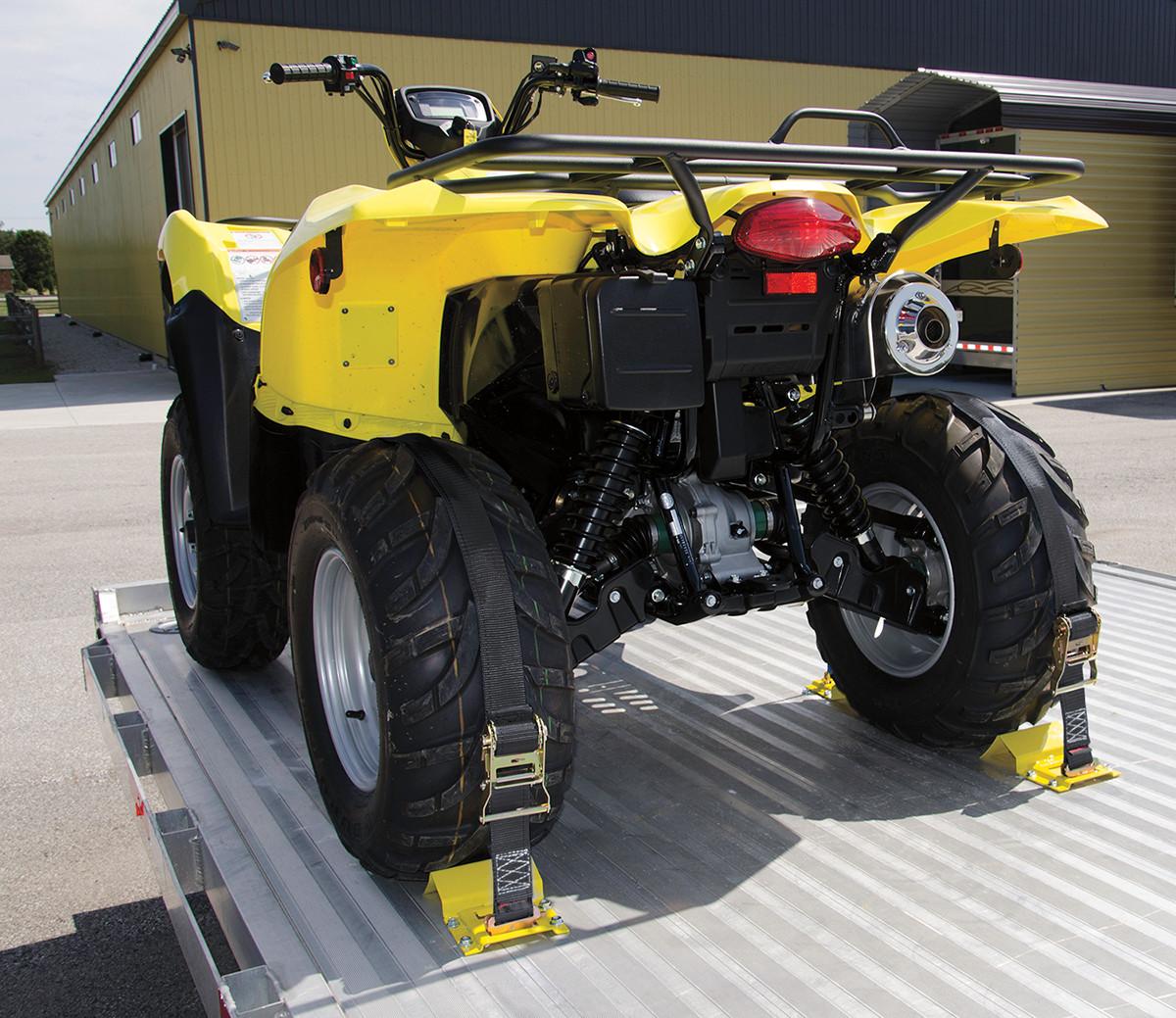 Moose Utility Division Atv Utv Tire Wheel Chock Tie Down