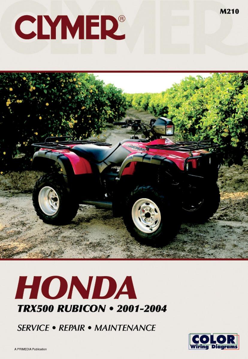 Clymer Repair Manual for Honda TRX 500 Rubicon 01-04 M210