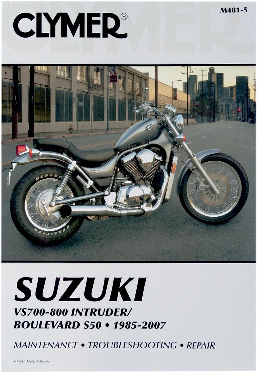 Clymer Repair Manual for Suzuki VS 700-800 Intruder Boulevard S50 85-07  481-6