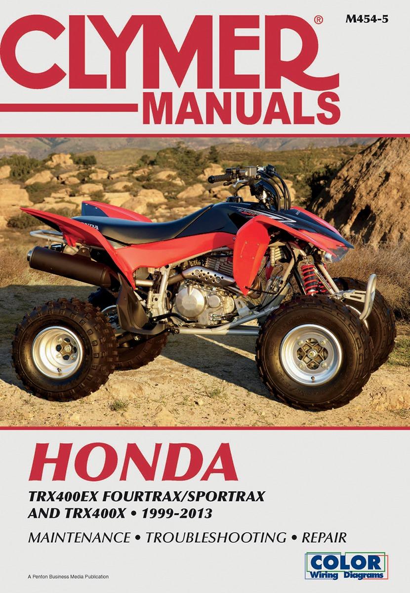 Clymer Repair Manual for Honda TRX 400 EX 400EX 400X 99-13 M454-5
