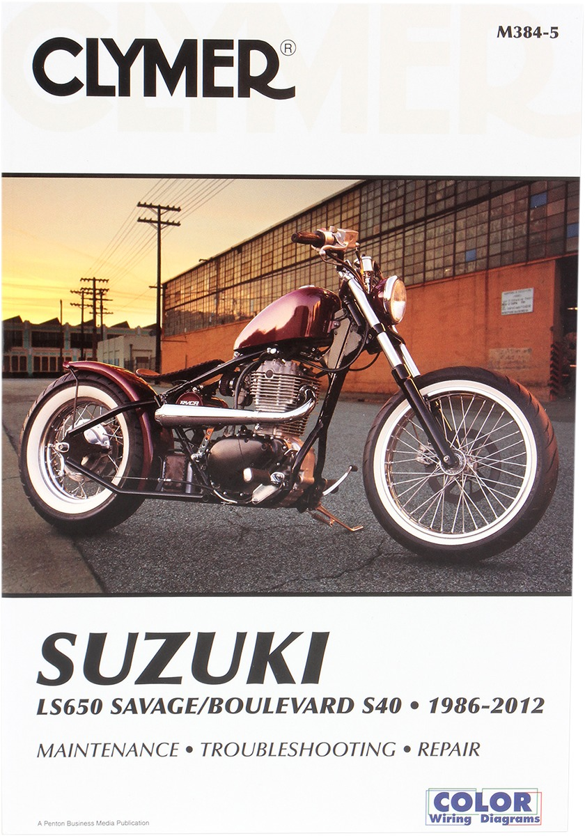 Suzuki Savage 650 Wiring Diagram Electrical Diagrams Sv650 Katana Clymer Repair Manual For Boulevard S40 Ls650 86 12 384