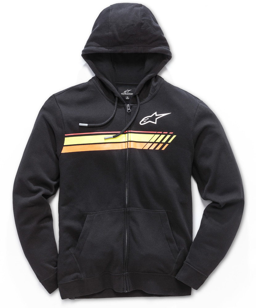 Alpinestars Adult Pivotal Hoody Fleece Zip Up Hoodie Black S-2XL  2f7abd0fe95
