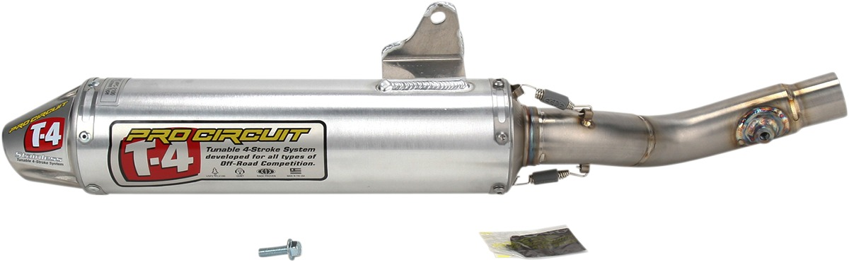 Details about Pro Circuit Exhaust Muffler Slip On T-4 T4 for Suzuki DRZ400  S/SM 05-09