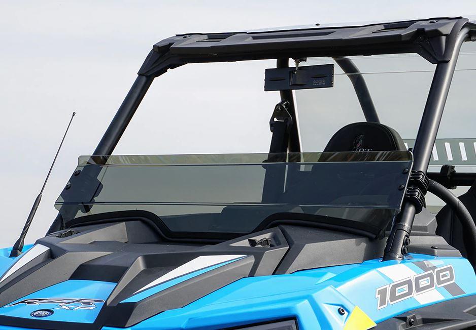 SuperATV Dark Tint Half Windshield For Polaris RZR XP Turbo S 2018+